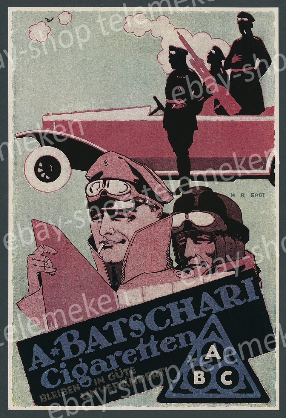 A2 Plakat Fallschirmjäger Paratroopers Bundeswehr Luftwaffe Poster Wehrmacht