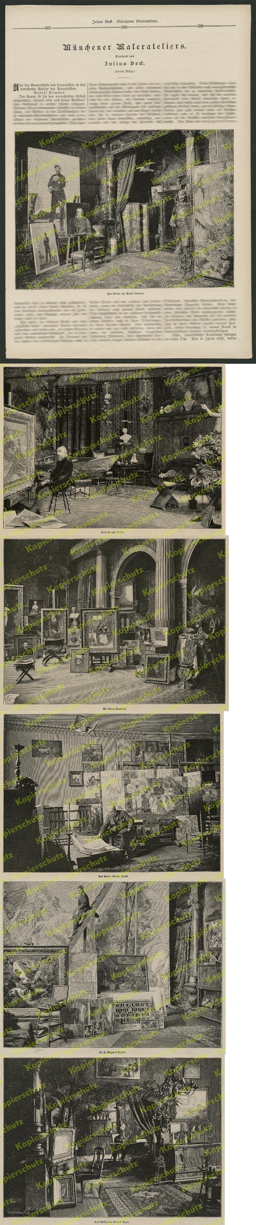 august blunck berlin unter den linden szene caf bauer gast adolph menzel 1889 ebay. Black Bedroom Furniture Sets. Home Design Ideas