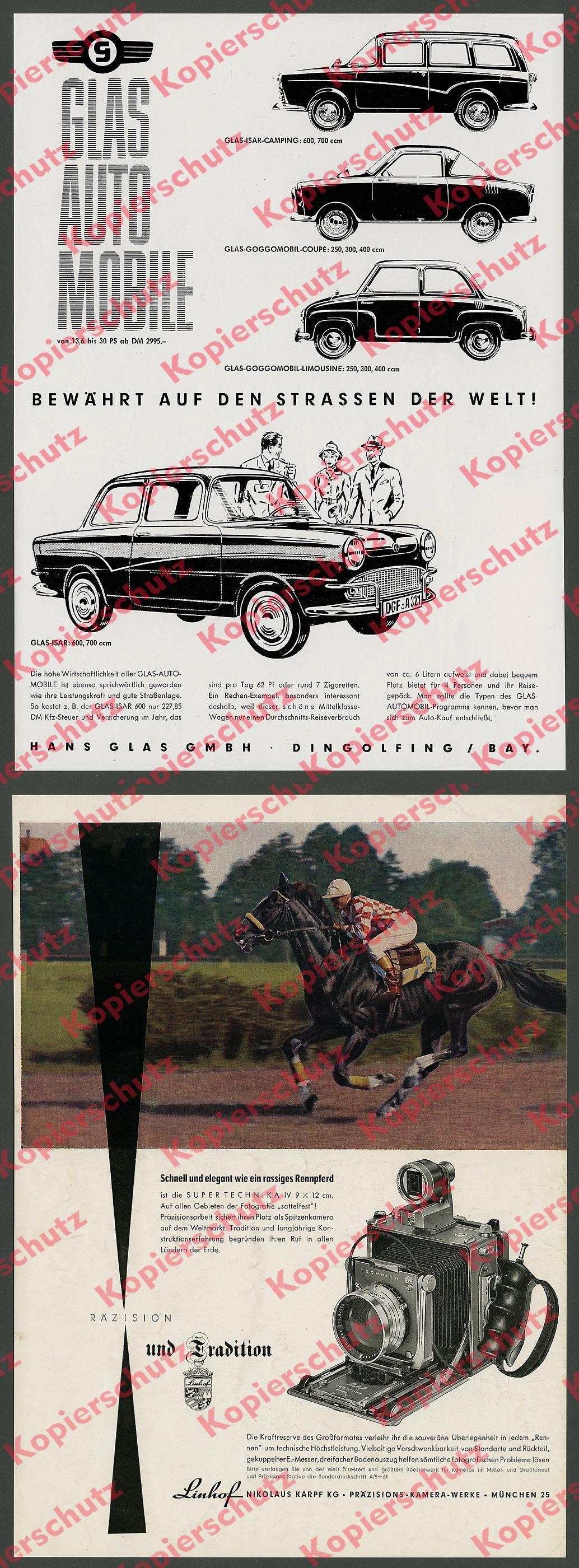 Transport 1958 Original Bmw 600 Isetta Zweizylinder Boxermotor Prospekt Brochure Um Jeden Preis